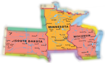 Licensed in Minnesota, South Dakota and Wisconsin